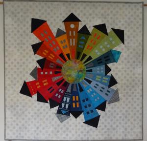Wandquilt-Nachbarschaftskreis