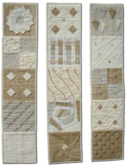 Helles 3-teiliges Quilt